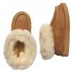 Chaussons en peau de mouton