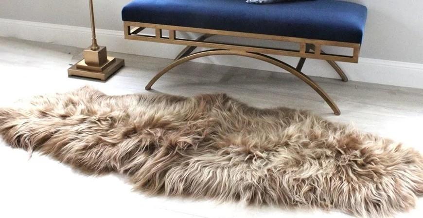 Bien réaliser son tapis en peau sur mesure
